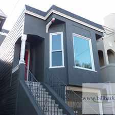 Rental info for 962 Sanchez Street in the Noe Valley area