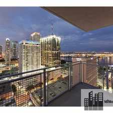 Rental info for 201 Northeast 2nd Avenue #1408