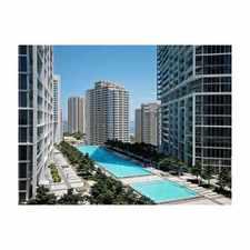 Rental info for 495 BRICKELL, #2206 495 BRICKELL, #2206 Miami, FL 33131 #2206