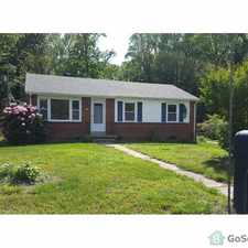 Rental info for NEWLY RENOVATED Home - Henrico Schools - Nice Neighborhood in the Richmond area