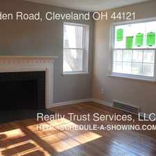 Rental info for 1539 Holmden Road, Cleveland OH 44121 in the Tremont area