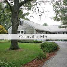 Rental info for Outstanding Opportunity To Live At The Osterville City Club