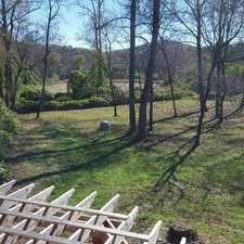 Rental info for Cliffs Valley area home on 3 fenced acres with a creek! Must see to appreciate