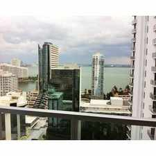 Rental info for 1050 Brickell Avenue