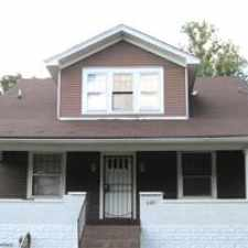 Rental info for This house has large rooms, two bedroom on the first floor, dinning room bathroom kitchen.On the second floor, two bedroom and a bathroom in basement plus a large fenced in back yard it in nice neighorhood in the Shawnee area