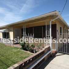 Rental info for 3 bedroom house in the Boyle Heights area
