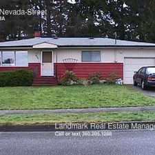Rental info for 1230 Nevada Street in the Puget area