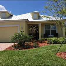 Rental info for Beautiful Vero Beach House for rent