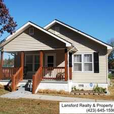 Rental info for SUPER CUTE 2 BR/1BA HOME LOCATED IN FORT OGLETHORPE