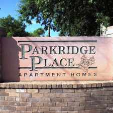Rental info for Parkridge Place Apartments