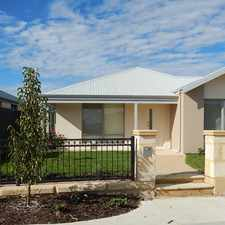 Rental info for NOT TO BE MISSED in the Ellenbrook area
