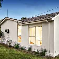 Rental info for A short drive to Glen Waverley in the Mount Waverley area