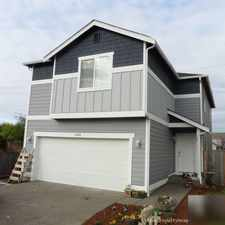 Rental info for Bright Yelm, 4 bedroom, 2.50 bath for rent. Single Car Garage!