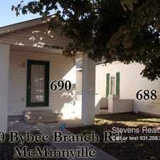 Rental info for 690 Bybee Branch Road