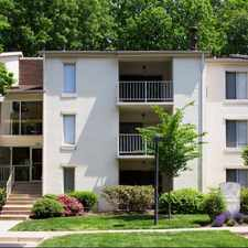 Rental info for The Springs at Reston in the 20191 area
