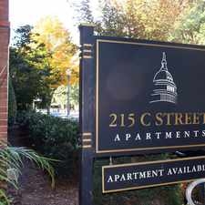 Rental info for 215 C Street in the Capitol Hill area