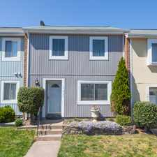 Rental info for 1017 Knight Lane in the Herndon area
