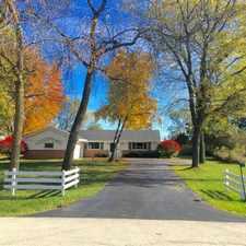 Rental info for Cedarburg Single Family