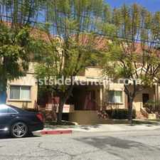 Rental info for North Glendale townhouse in the Verdugo Viejo area