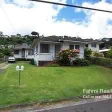 Rental info for 2316 Kaneali'i Ave