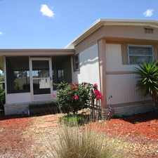 Rental info for Cute Home For Rent In Florida Resort Community *55+ Community*