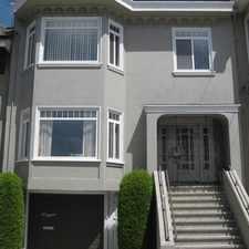 Rental info for 1016 Balboa Street in the Inner Richmond area