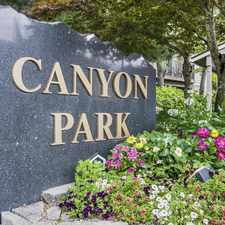 Rental info for Canyon Park