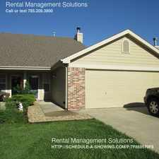 Rental info for 2609 Sawgrass Dr