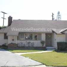 Rental info for Beautiful Ranch style home in the Verdugo Viejo area
