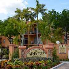 Rental info for The Arbors in the North Miami Beach area