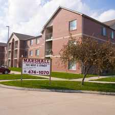Rental info for Marshall Apartments in the West A area