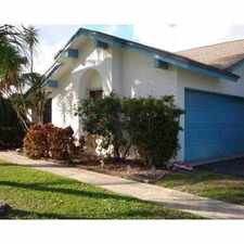 Rental info for 10361 185th Street South
