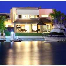 Rental info for Executive home on the prestigious Sovereign Islands in the Gold Coast area