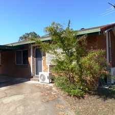 Rental info for QUIRKY, NEAT & TIDY 2 BEDROOM UNIT!!! in the East Mackay area