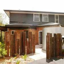 Rental info for Tranquil & Unique Townhouse In Buderim in the Sunshine Coast area