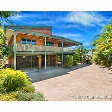 Rental info for Top Location on The Range in the Rockhampton area