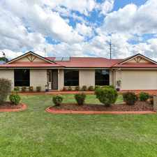 Rental info for IMMACULATE FAMILY HOME IN A HIGHLY SOUGHT AFTER LOCATION in the Toowoomba area