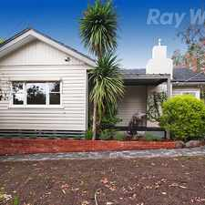 Rental info for CHARACTER WEATHERBOARD HOME