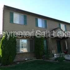 Rental info for 4174 S Oak Meadows Dr. #10 in the Taylorsville area