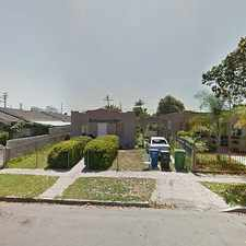 Rental info for Single Family Home Home in Los angeles for For Sale By Owner in the Watts area