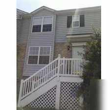 Rental info for Beautiful one owner townhouse with new carpets and paint.