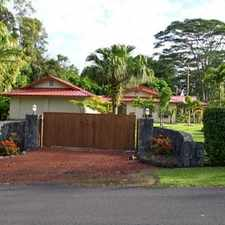 Rental info for Single Family Home Home in Pahoa for Owner Financing