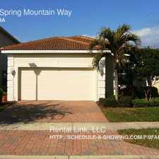 Rental info for 8769 Spring Mountain Way