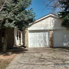 Rental info for 15059 East Wagon Trail Place in the Pheasant Run area