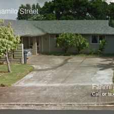 Rental info for 98-1140 Kaamilo Street