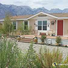 Rental info for Single Family Home Home in Lone pine for For Sale By Owner