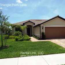 Rental info for 9029 Triangle Palm Lane