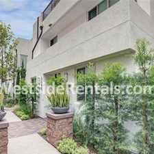 Rental info for 3 bedroom townhouse in the El Segundo area