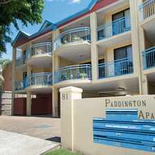 Rental info for MODERN APARTMENT WITH PADDINGTON CHARM in the Brisbane area