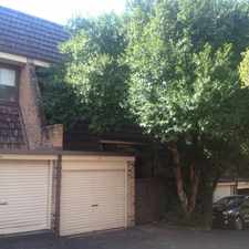 Rental info for RENOVATED 2 BEDROOM TOWNHOUSE- open home Saturday in the Sydney area
